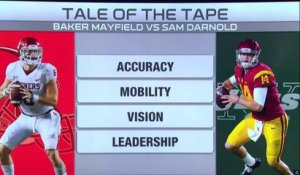Tale of the Tape: Baker Mayfield vs. Sam Darnold