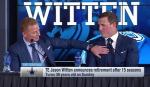 Jason Garrett's emotional, heart-felt send-off to Jason Witten