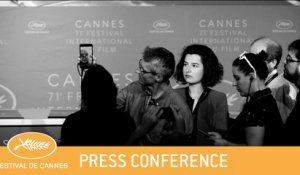 LE LIVRE D'IMAGE - CANNES 2018 - PRESS CONFERENCE -