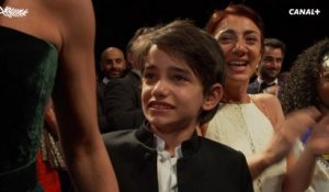 Standing ovation à la fin de la projection du film Capharnaüm - Cannes 2018