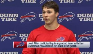 Josh Allen on OTAs: 'Limited reps' have been a challenge so far