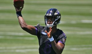 Palmer: Ravens had a special offensive package devoted to Lamar Jackson in Thursday's OTAs