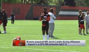 Is Jarvis Landry the best receiver in the NFL?