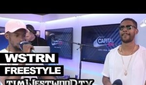 WSTRN freestyle backstage at Wireless - Westwood