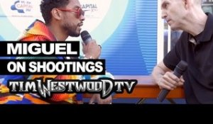 Miguel on shootings in America - Westwood
