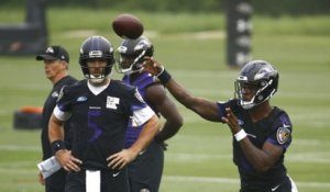 Will Joe Flacco have more rushing TDs or Lamar Jackson have more passing TDs in 2018?