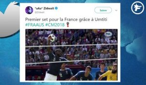 Le Top Tweets sur l'incroyable main d'Umtiti