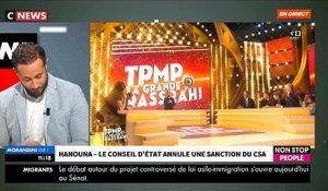 EXCLU - Voici qui va indemniser C8 après l'annulation de la sanction du CSA contre Cyril Hanouna - VIDEO