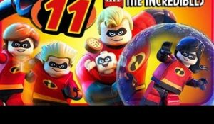LEGO The Incredibles Walkthrough Part 11 (PS4, Switch, XB1) No Commentary Co-op