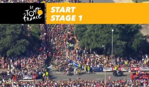 Départ / Start - Étape 1 / Stage 1 - Tour de France 2018