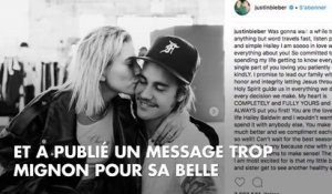 PHOTO. Justin Bieber confirme ses fiançailles avec Hailey Baldwin par un touchant message sur Instagram