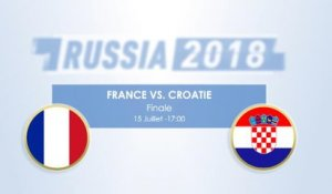 Le Face à Face - France vs. Croatie