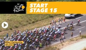 Départ / Start - Étape 15 / Stage 15 - Tour de France 2018