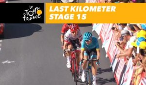 Last kilometer / Flamme rouge - Étape 15 / Stage 15 - Tour de France 2018