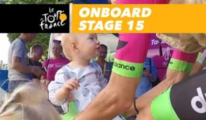 Onboard camera - Étape 15 / Stage 15 - Tour de France 2018