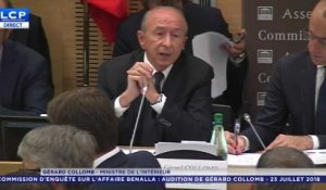 Affaire Benalla : les explications de Gérard Collomb