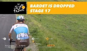 Bardet est lâché / is dropped - Étape 17 / Stage 17 - Tour de France 2018