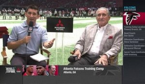 Arthur Blank on anthem discussion: Players 'saw certain social issues which are real'