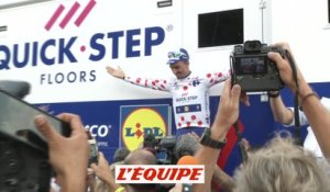 Le clapping d'Alaphilippe - Cyclisme - Tour de France
