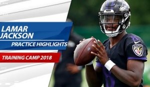 Best of Lamar Jackson at Ravens training camp
