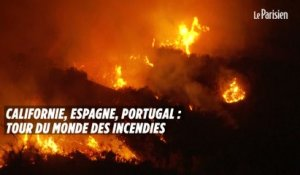 Californie, Espagne, Portugal : tour du monde des incendies
