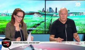Le Grand Oral de Christian Page, ancien sdf  - 15/08