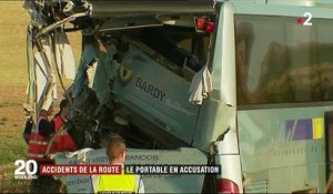 Accidents de la route : le portable en accusation