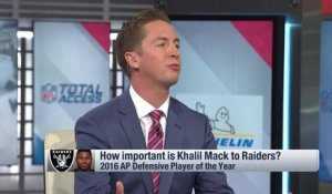Pelissero: Raiders have 'no imminent plans' to trade Mack