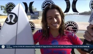 Adrénaline - Surf : Silvana Lima with a 4.23 Wave from Surf Ranch Pro, Women's Championship Tour - Qualifying Round