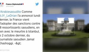 Affaire Khashoggi. 18 Saoudiens sanctionnés par la France.
