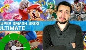 SUPER SMASH BROS ULTIMATE : Un solo au contenu massif ? | PREVIEW