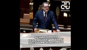 Assemblée nationale: Richard Assemblée nationale: Richard Ferrand élu (sans surprise) au perchoir