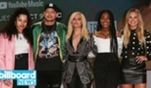 Normani & Bebe Rexha Talk Chart Successes at AMA Nominations Announcement Event | Billboard News