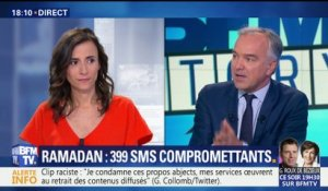 Affaire Ramadan: 399 SMS compromettants