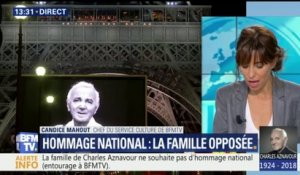 Charles Aznavour: sa famille opposée à un hommage national