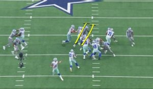 Why the Cowboys' O-line was the difference maker in Week 4