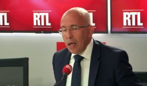 "Démission de Collomb : ""On a l'impression que le Titanic s'enfonce de plus en plus"", dit Ciotti"