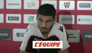 Lees-Melou «On doit faire plus» - Foot - L1 - Nice