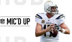 Mic'd Up: Philip Rivers lobbies for calls to Antonio Gates | Week 4