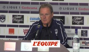Bedouet «On prend de l'assurance» - Foot - L1 - Bordeaux