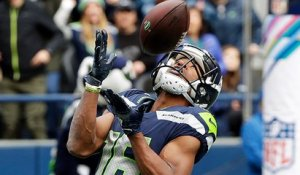 Tyler Lockett leaves Marcus Peters grasping at air on TD