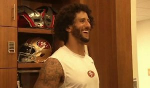 Kaepernick, récompensé à Harvard, poursuit son combat