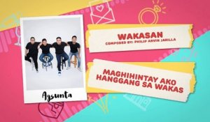 Wakasan - Agsunta | Himig Handog 2018 (Official Lyric Video)