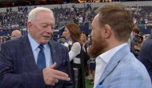 McGregor tells Jerry Jones he wants a fight in AT&T Stadium
