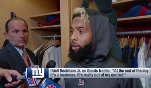 OBJ reacts to Damon Harrison, Eli Apple trades