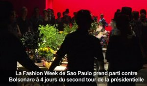 Sao Paulo: une Fashion Week contre l'intolérance