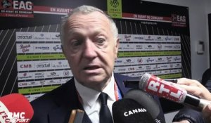 "Ligue 1 - Aulas : ""Depay a fait un très grand match"""