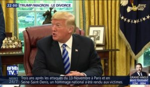 Trump/Macron: Le divorce