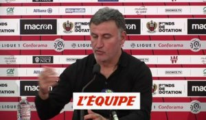 Galtier «On doit faire beaucoup plus» - Foot - L1 - LOSC