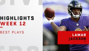 Best Lamar Jackson plays vs. Raiders | Week 12